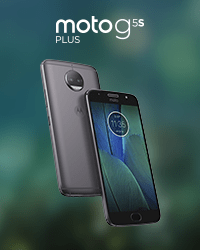 Banner of Moto G5S Plus Gray